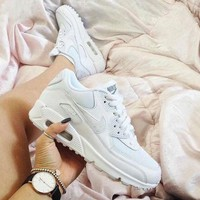 NIKE AIR MAX 90 Trending Women Men Personality Sport Running Shoe Sneakers Shoes