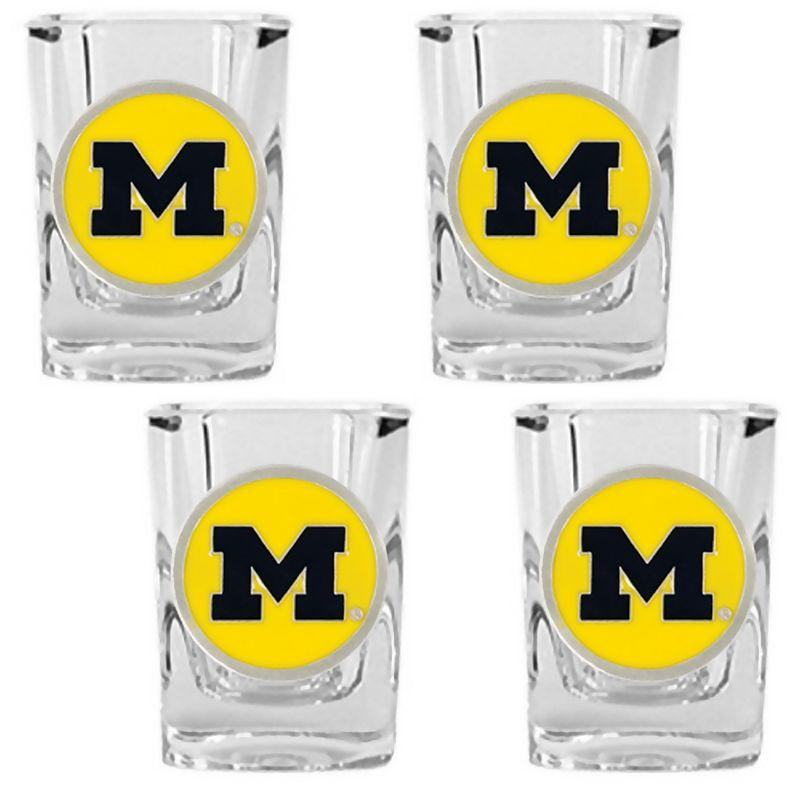 Michigan Wolverines 4 Pc Shot Glass Set From Kohl S
