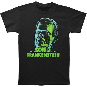 Son Of Frankenstein Men's  Son Of Frankenstein T-shirt Black