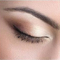 Soft Brown Mineral Eyeshadow, Eyeliner,  Vegan, Matte Finish, Trial Size