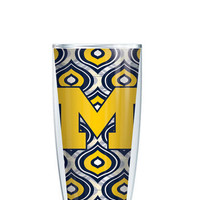 University of Michigan Tumbler -- Customize with your monogram or name!