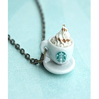 Starbucks Coffee Necklace
