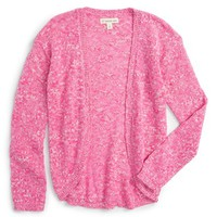 Tucker + Tate Cocoon Sweater (Toddler Girls, Little Girls & Big Girls) | Nordstrom