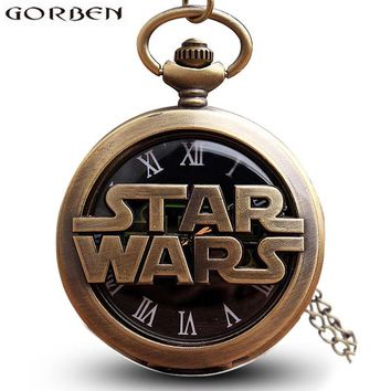 Vintage Bronze Star Wars Pocket Watch Collection