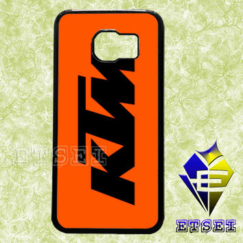 ktm logo case For Samsung Galaxy S3/S4/S5/S6 Regular/S6 Edge and Samsung Note 3/Note 4 case