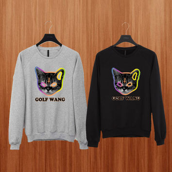 golf wang sweater Black/Gray/Blue/Orange/Red/Yellow Sweatshirt Crewneck Men or Women Unisex Size