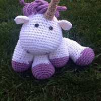 Crochet Unicorn stuffed animals
