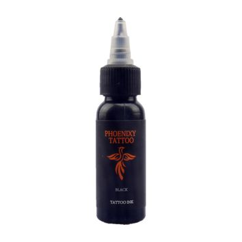 1 Bottle 1oz Tattoo Ink Pigment Set Kits Body Arts 30ml black Professinal Beauty Permanent Makesup Paints Accesory