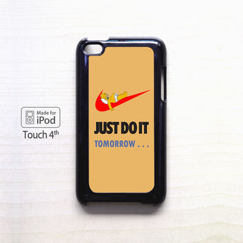JUST DO IT tomorrow simpson for apple case iPod 4/iPod 5