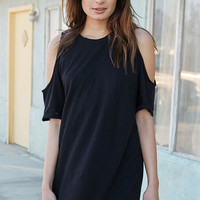 Kendall & Kylie Cold Shoulder T-Shirt Dress at PacSun.com