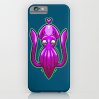Squid Love iPhone & iPod Case by Artistic Dyslexia | Society6