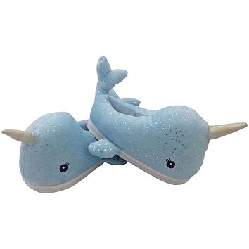 Cozy Narwhal Slippers