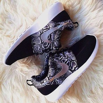 Nike Roshe One Print Women Casual Running Sport Shoes Sneakers2