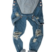 WOLF BLUE AWESOME OVERALL