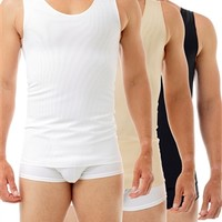 Ultimate Chest Binder Tank 3-Pack - Best mens extreme compression Shirt - Underworks