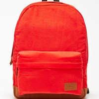 Vans Deana III Red School Backpack - Womens Backpack - Red - One