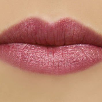 Macaroon Mineral Lipstick in Mauve Magenta by mojospa on Etsy