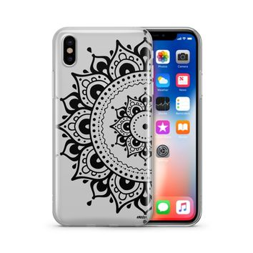 Hayley Mandala - Clear TPU Case Cover Phone Case