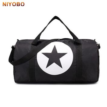 NIYOBO Men And Women Travel Shoulder Bag Waterproof Travel Bag Large Capacity Luggage Duffle Foldable Portable Totes PT1128