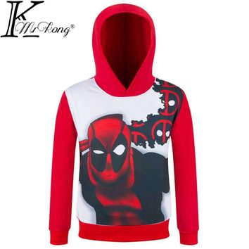 Deadpool Dead pool Taco 2017 Brand New boys superhero hoodies children super hero Sweatshirts long sleeve kids  Outerwear coat tops for 3-10 Y AT_70_6