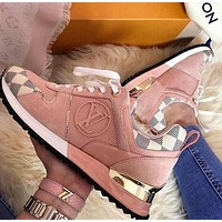 Louis Vuitton Lv Woman Man Fashion Casual Shoes