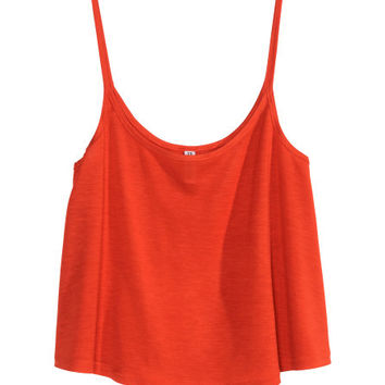 Top curto em jersey - from H&M