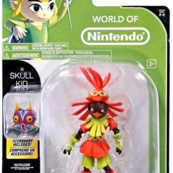 World of Nintendo The Legend of Zelda Skull Kid with Mask Action Figure NIB