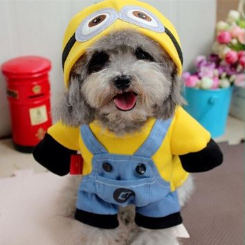 Funny Pet Dog Coat for Small Dog Jacket Warm Puppy Clothes with Hooded Costume Teddy Cat Clothes Pet Products Ropa de Perro 35