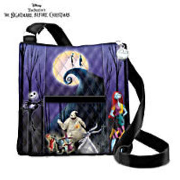 Tim Burtons The Nightmare Before Christmas Canvas Art Womens Shoes