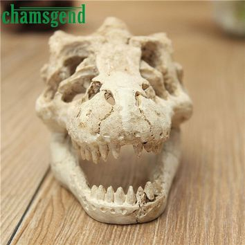 Skull Skulls Halloween Fall Halloween Aquarium Decorative Resin  Crawler Dragon Lizards Decoration 2018 new Decoration L528 Calavera