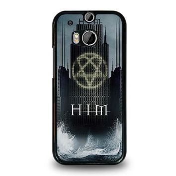 HIM BAND HEARTAGRAM HTC One M8 Case Cover