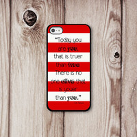 Dr Seuss Iphone Case - Iphone 4 - Iphone 4s - Iphone 5 - Iphone Cover -  Inspirational Phone Cases by Luv Your Case (169)