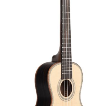 Kala Solid Spruce Top Striped Ebony Concert Ukulele