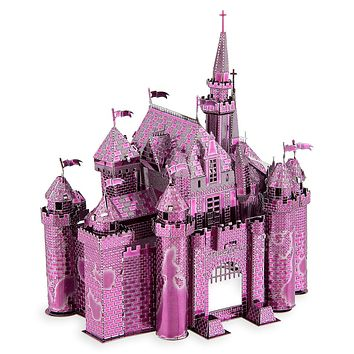 Disney Parks Sleeping Beauty Castle Two Toned Metal Earth Model Kit 3D New