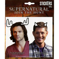Supernatural Moose Squirrel Sticker Set