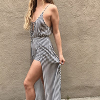 Stay With Me Maxi Romper