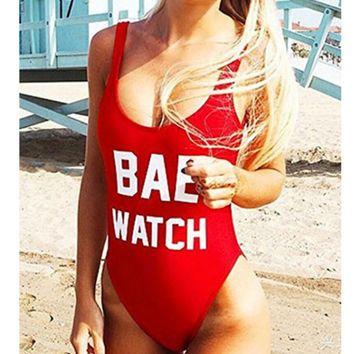 SAY-IT Brand BAE WATCH Swimsuit