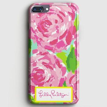 Lilly Pulitzer First Impression Rose Inspired iPhone 7 Plus Case