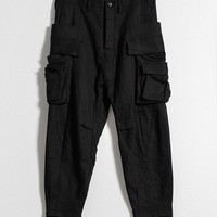 INDICE STUDIO -1706-P201 CARGO CROPPED PANTS