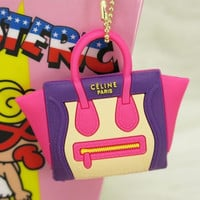 I Want Luxury Key Chain- Purple & Pink