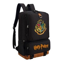 Harry Potter School Bags Book Backpacks Children Bag Fashion Shoulder Bag Rucksack Students Backpack Travel Bag for teenagers