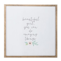 Beautiful Girl Wood Wall Decor | Hobby Lobby | 1470749