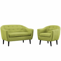 Wit 2 Piece Living Room Set Wheat