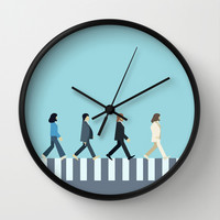 The Beatles Wall Clock by Victor Trovo Afonso | Society6