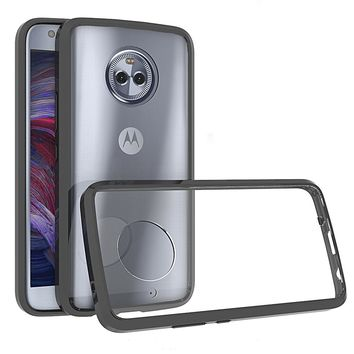 For Cover Motorola Moto X4 Case Shockproof Armor Crystal Clear Phone Cases For Moto X4 2017 Back Cover For Moto X4 Case fu308