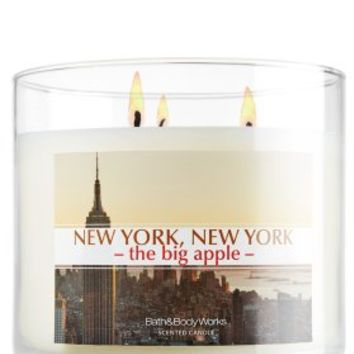 New York, New York - The Big Apple! 14.5 oz. 3-Wick Candle   - Slatkin & Co. - Bath & Body Works