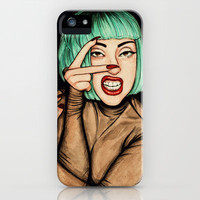 Vamp iPhone Case by Helen Green | Society6