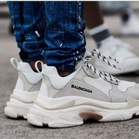 Balenciaga Trending Women Men Casual Sport Running Shoe Couple Sneakers
