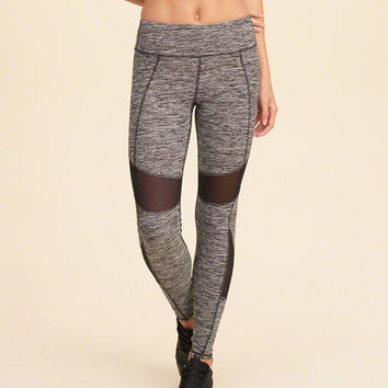 Girls Hollister Cali Sport Mesh Panel Leggings | Girls Bottoms | HollisterCo.com