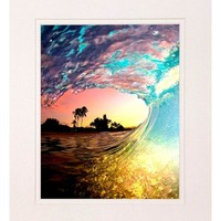 Clark Little 'Rainbow Shave' Matted Print | Nordstrom